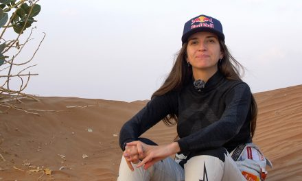 Cristina Gutiérrez al Dakar con el Red Bull Off-Road Junior Team program