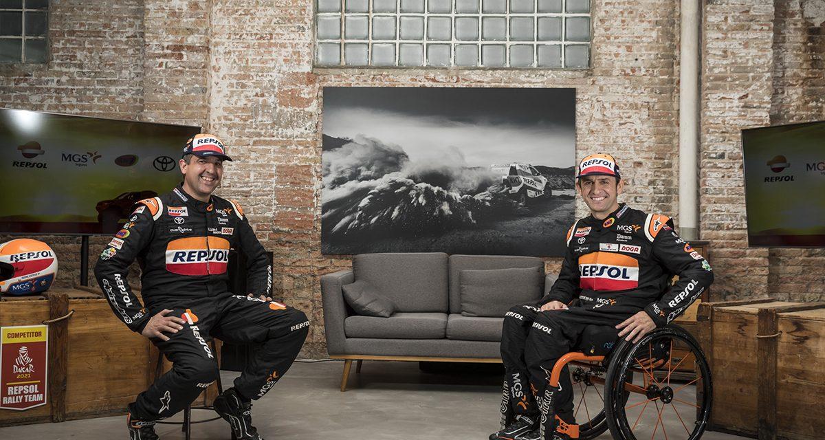 Dakar 2021: Presentación Toyota de Esteve/Villalobos