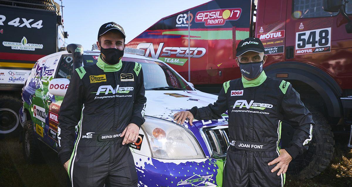 Joan Font quiere repetir la hazaña en su segundo Dakar con un coche de serie