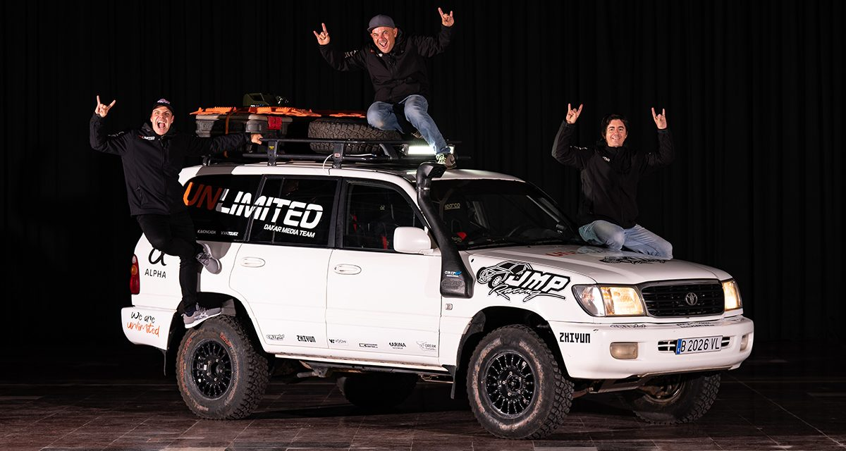 """Unlimited Daklar Media Team, los """"ojos"""" de Autoverde4x4 en el Dakar"""