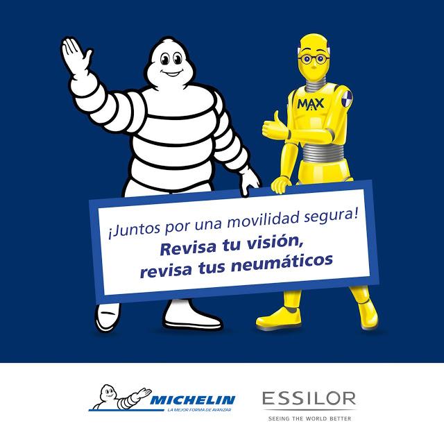 Michelin y Essilor juntos por una movilidad más segura