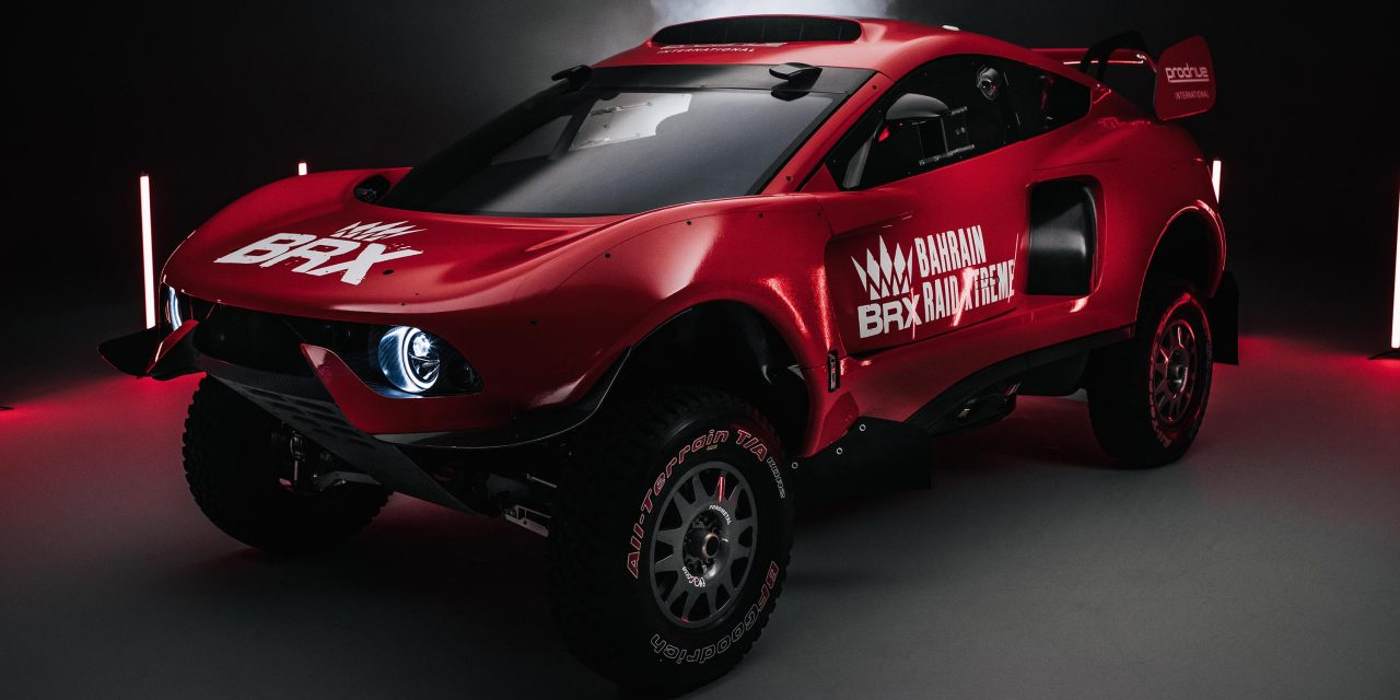 Prodrive presenta su BRX Hunter del Dakar