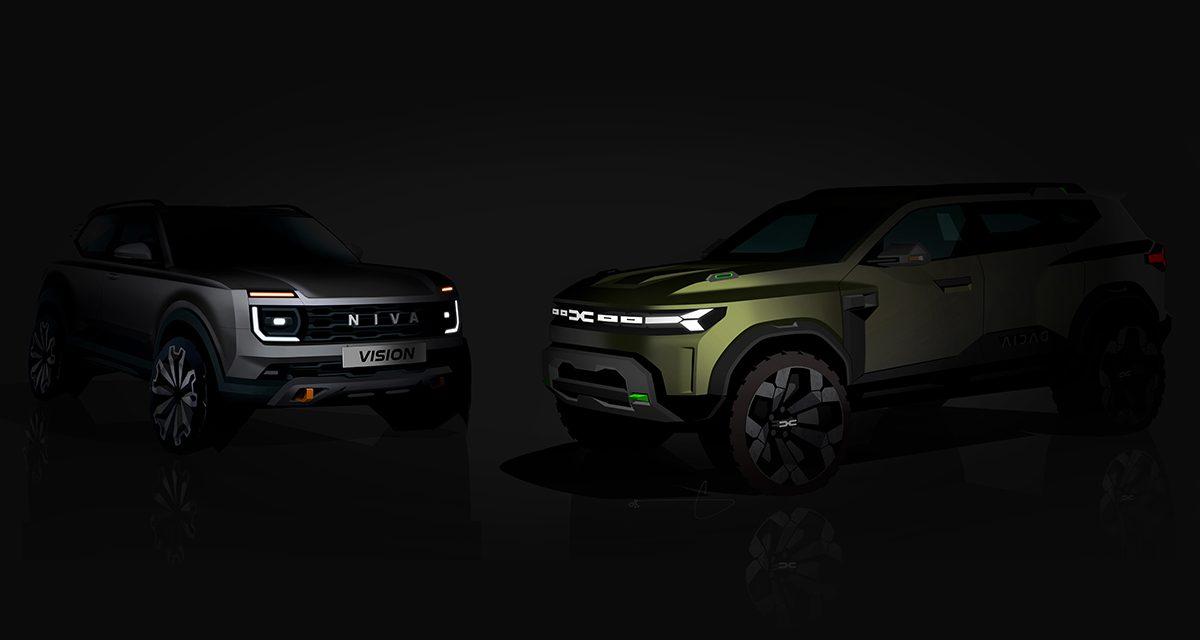 Dacia Bigster Concept y Lada Niva Vision