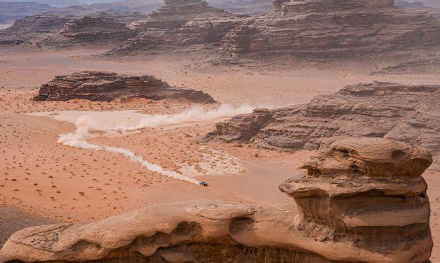 Etapa 10 Dakar 2021 (Neom – AlUla) Coches. La Guerra de las Galaxias