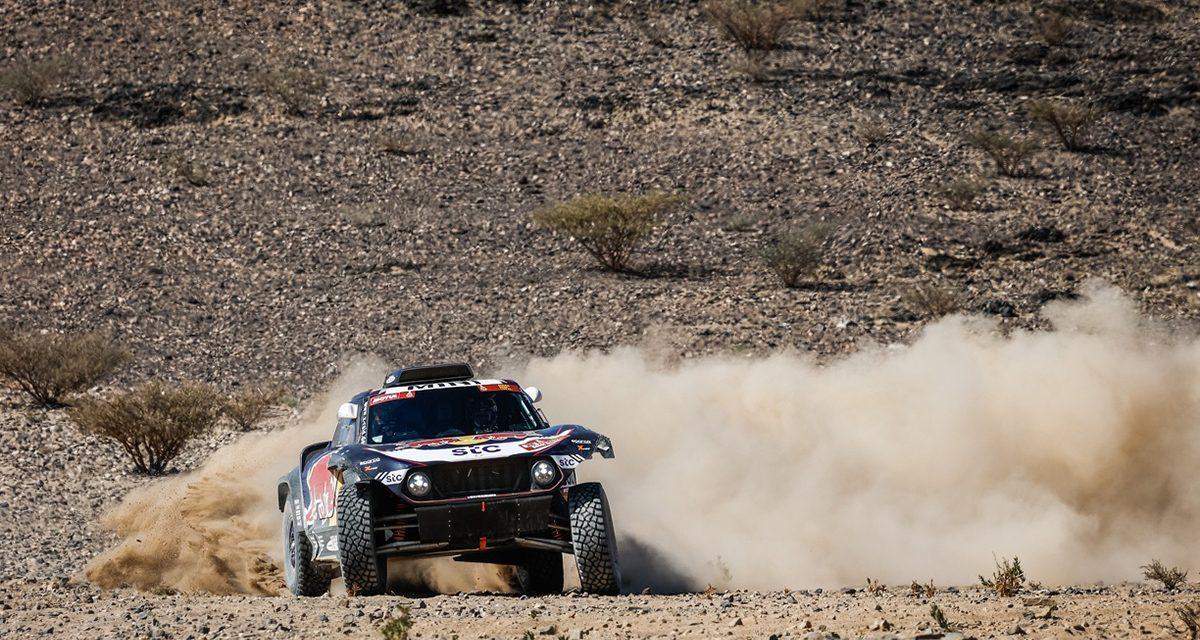Etapa 1 Dakar 2021 (Jeddah-Bisha) Coches. Brillante victoria de Sainz y Cruz