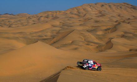 Etapa 3 Dakar 2021 (Wadi Ad-Dawasir – Wadi Ad-Dawasir) Coches. Al-Attiyah/Baumel por el buen camino