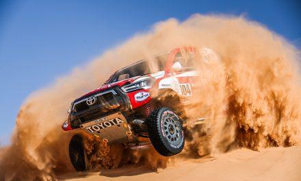 Etapa 5 Dakar 2021 (Riyadh – Al Qaisumah) Coches. Reaparecen De Villiers y Haro