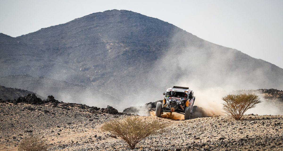 Etapa 5 Dakar 2021 (Riyadh – Al Qaisumah) Bugguies. Sigue la mala racha