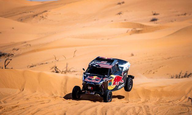 Etapa 6 Dakar 2021 (Al Qaisumah – Hail) Bugguies. El niño volador