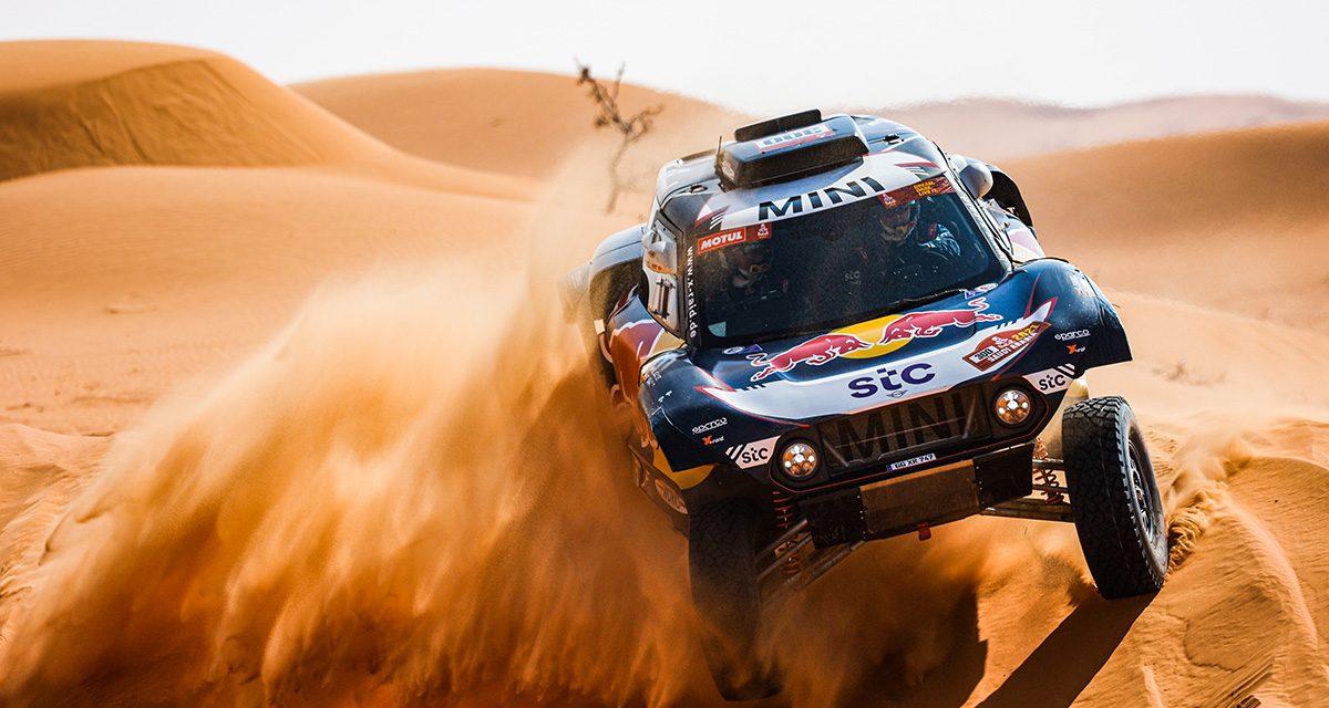 Etapa 6 Dakar 2021 (Al Qaisumah – Hail) Coches. Súper Sainz