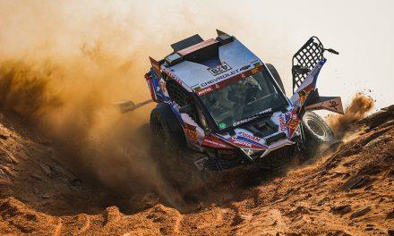 Etapa 8 Dakar 2021 (Sakaka – Neom) Bugguies. Por eliminación