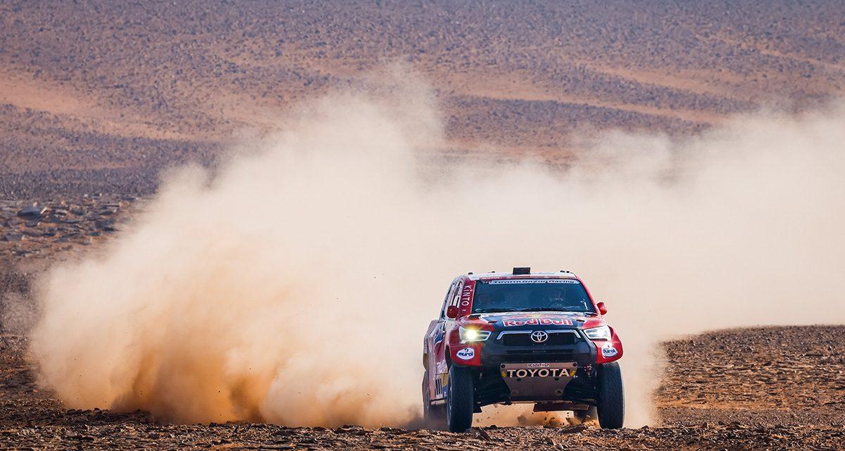 Etapa 8 Dakar 2021 (Sakaka – Neom) Coches. Al-Attiyah aprieta