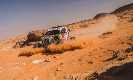 Etapa 9 Dakar 2021 (Neom – Neom) Bugguies. Súper López