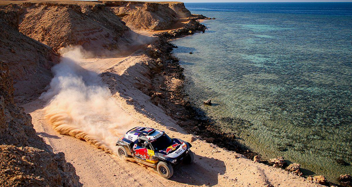 Etapa 9 Dakar 2021 (Neom – Neom) Coches. El día de Peter