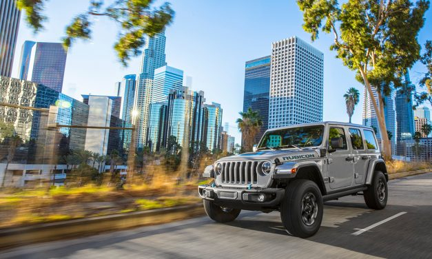 Se abre la reserva anticipada del Jeep Wrangler 4xe