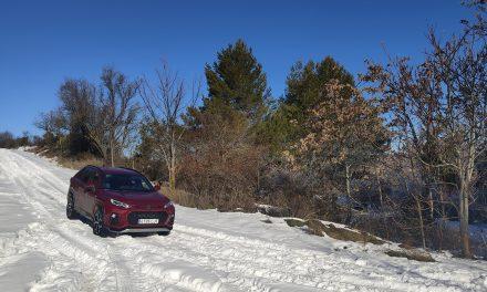 Suzuki Across 2.5 PHEV GLX AWD. Prueba en la nieve