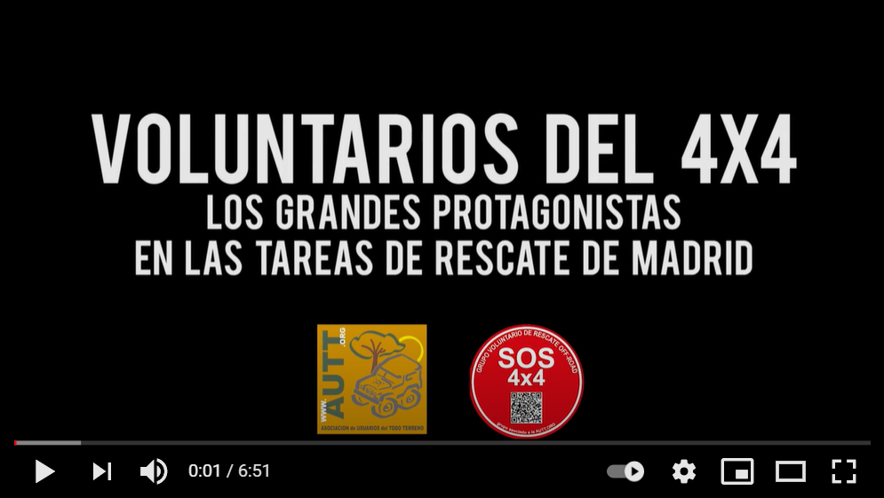 Video Voluntarios 4×4