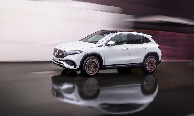 Nuevo Mercedes EQA 250. A la venta en primavera 2021