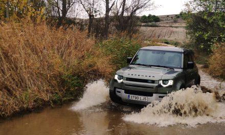 Prueba en campo Land Rover Defender 110