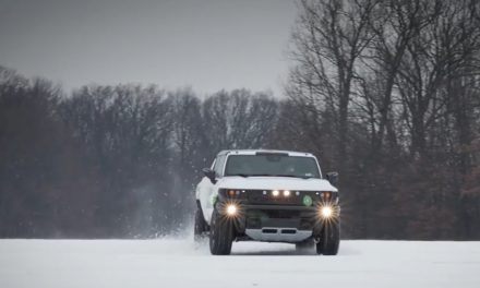 Vídeos de pruebas sobre nieve del GMC Hummer EV