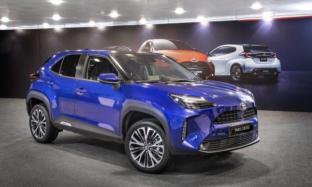 Presentación estática del Toyota Yaris Cross