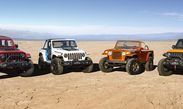 Prototipos Jeep para Easter Jeep Safari 2021
