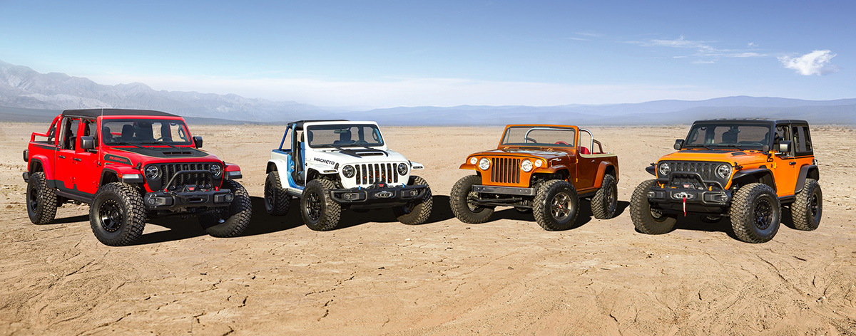 Prototipos Jeep para Easter Jeep Safari 2021
