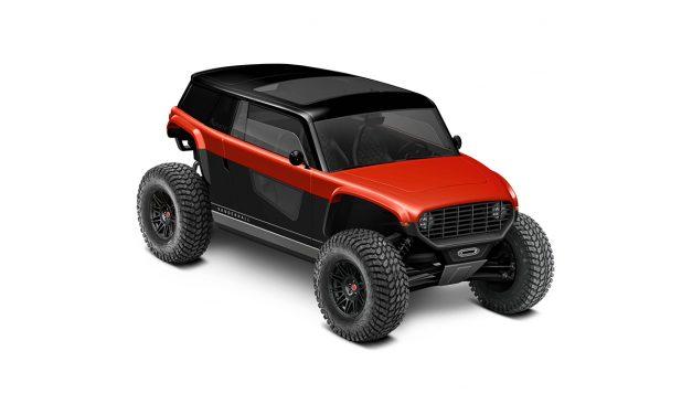 Vanderhall Navarro. Un buggy 4×4 100% eléctrico