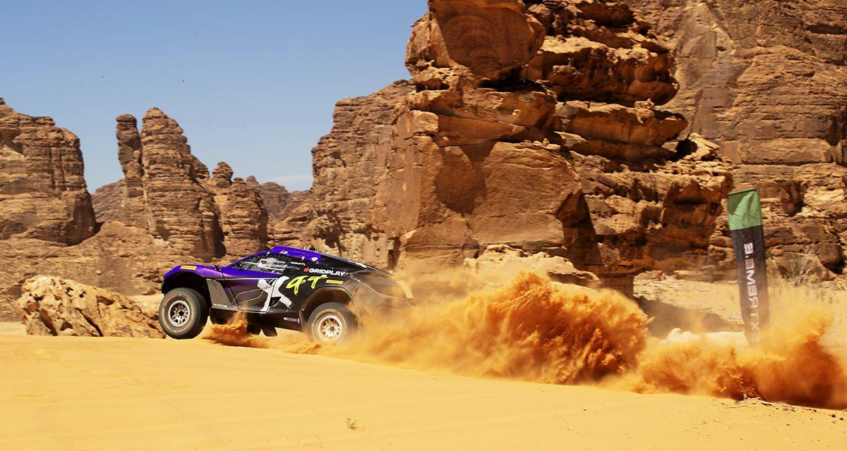 Clasificación Extreme E Arabia Saudí. Loeb y Gutiérrez, primeros
