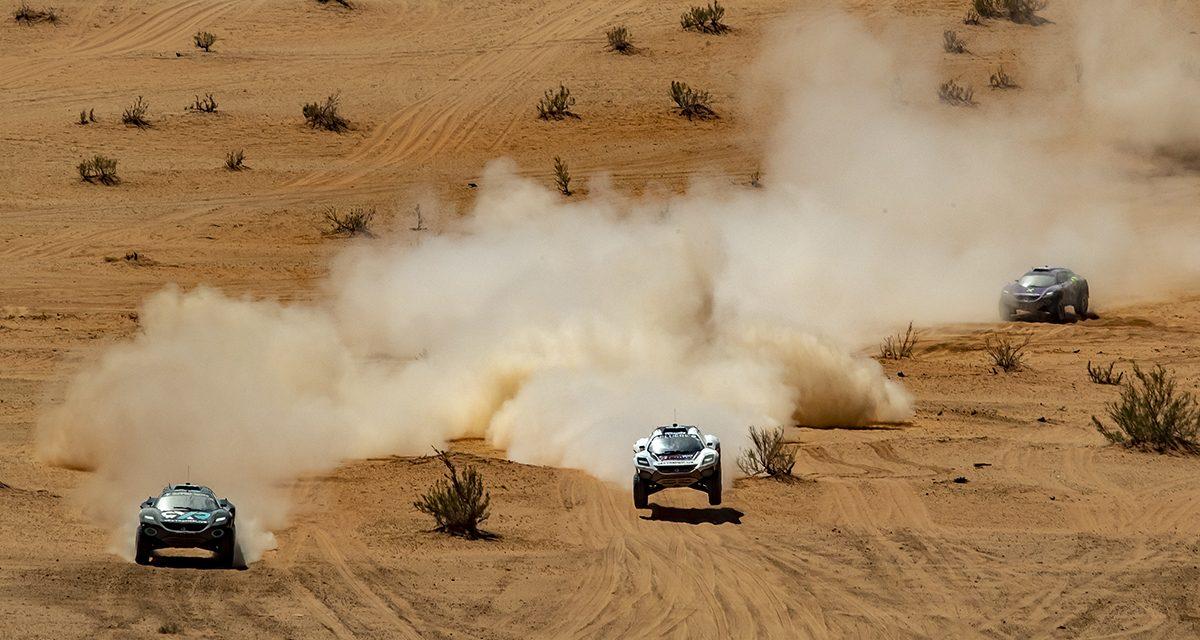 Final Extreme E Arabia Saudí. El polvo mató el espectáculo