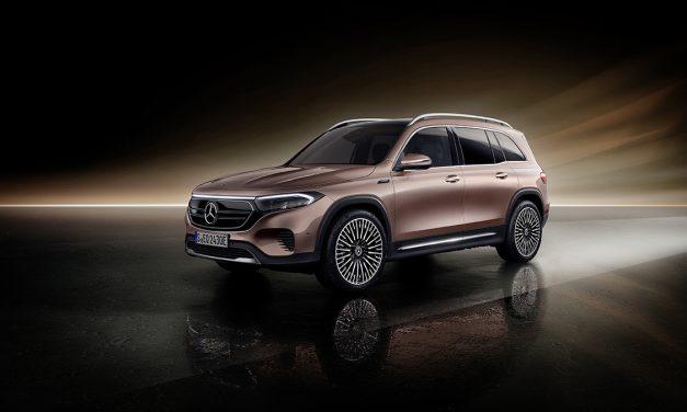 Nuevo Mercedes EQB. Un eléctrico de siete plazas