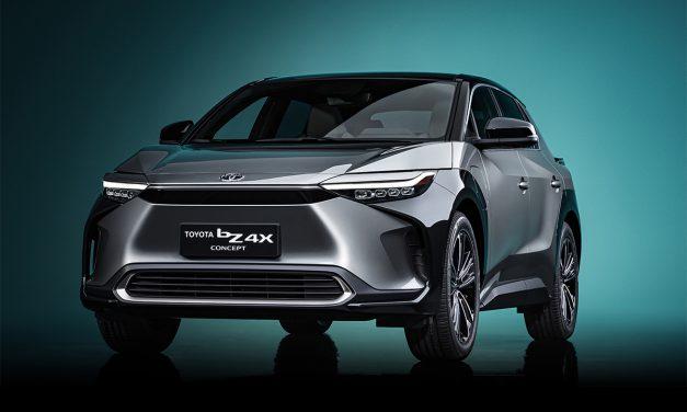 Prototipo Toyota bZ4X 4×4