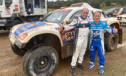 Carranza y Fernández prueban los coches de Sodicars de cara al Dakar 2022