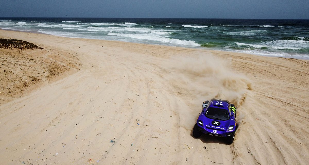Extreme E, Ocean XPrix: Loeb y Gutiérrez mandan en las playas de Dakar