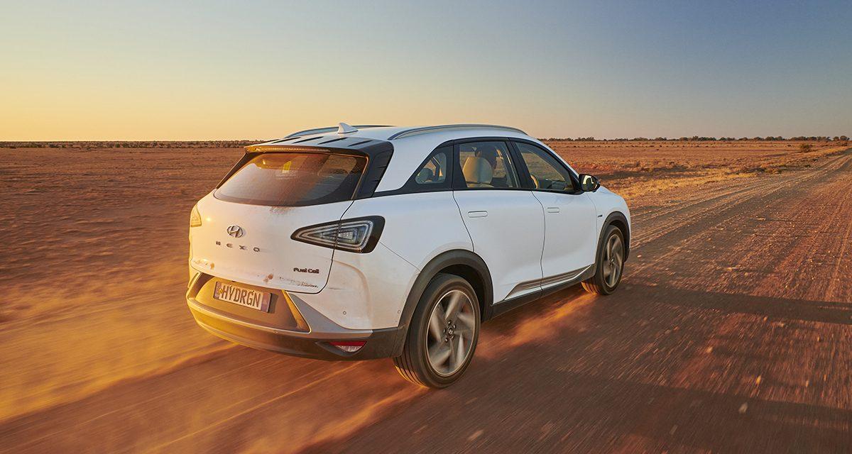 Récord Mundial de distancia en un Hyundai Nexo