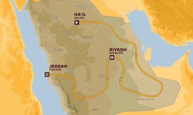 Presentación Dakar 2022 en Andalucía