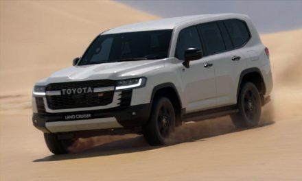El nuevo Toyota Land Cruiser 300 correrá el Dakar 2023 con Autobody