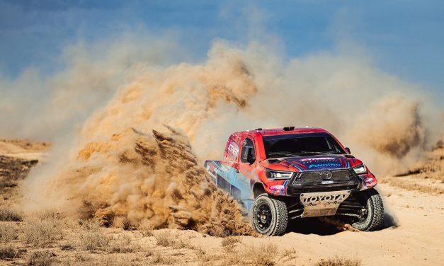 Kazakhstan Rally 2021. Color español con victoria absoluta de Álvarez/Monleón y de Gutiérrez/Cazalet en T3