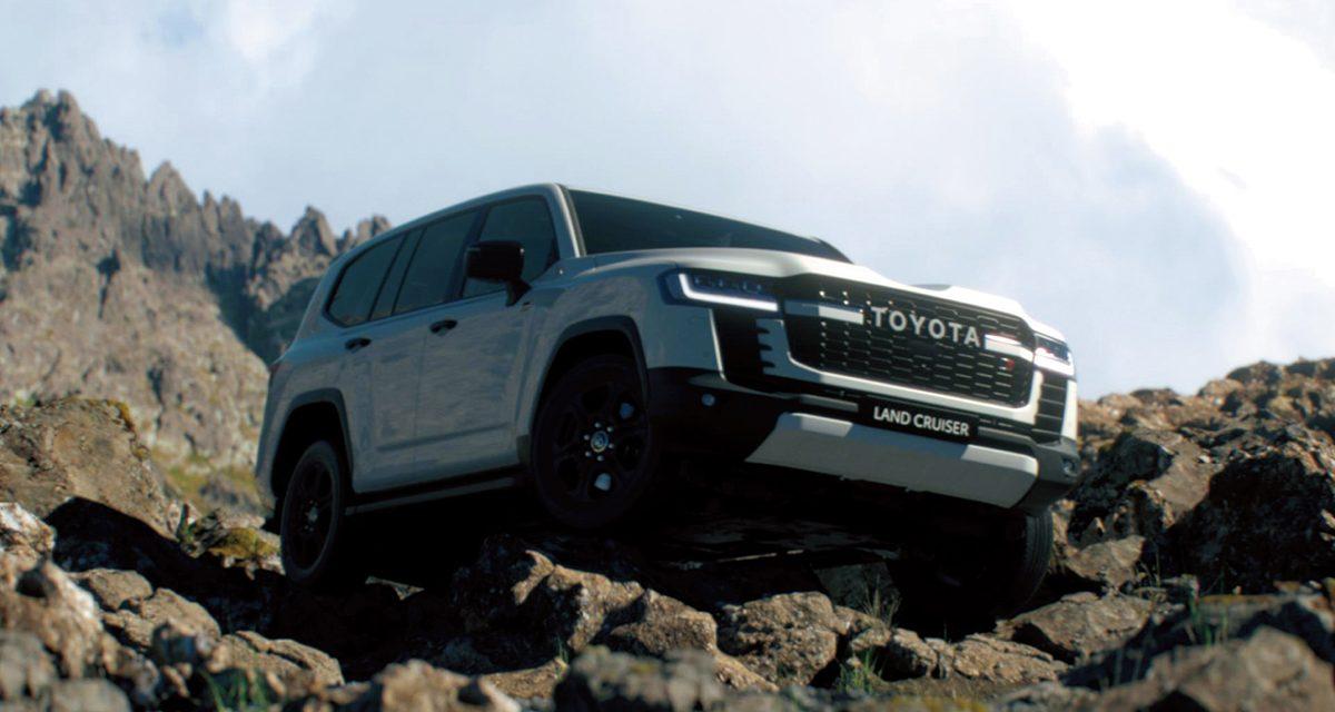Nuevo Toyota Land Cruiser 300