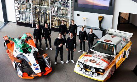 Audi desvela sus pilotos para el Dakar 2022