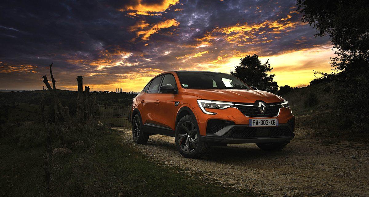 Presentación Renault Arkana E-Tech híbrido