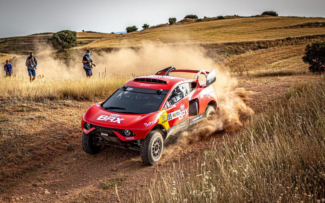 Baja España Aragón. CERTT para vehículos TT. Primera victoria del BRX Hunter