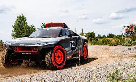 Presentación Audi RS Q e-tron Dakar 2022