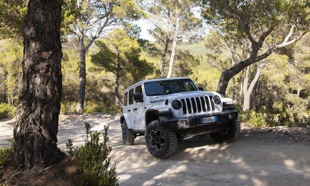 Prueba Jeep Wrangler 4xe híbrido enchufable