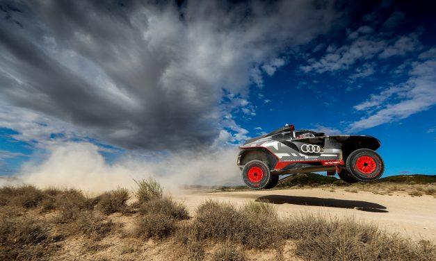 El Audi RS Q e-tron vuela en España