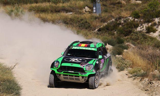 Rally TT Villa de Zuera. CERTT para vehículos TT. Victoria de Recuenco y Peinado
