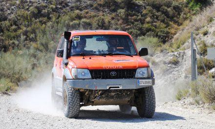 Rally TT Villa de Zuera. CERTT Regularidad. Albiñana y Domingo, de estreno