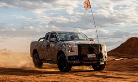 Primeras fotos nuevo Ford Ranger 2022