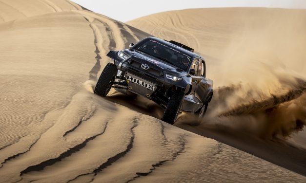 Nuevo Toyota GR DKR Hilux T1+ Dakar 2022. La nueva arma de Nasser