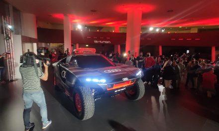 Presentación Audi RS Q e-Tron Dakar en Madrid